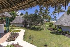 Курортный отель на острове Занзибара стоковые фотографии rf