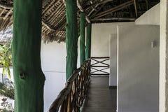 Курортный отель на острове Занзибара стоковые фото