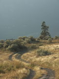 Курорты берега озера, долина Okanagan, Британская Колумбия Стоковая Фотография RF
