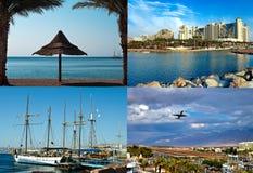 курорты Израиля eilat города привлекательностей стоковое изображение rf