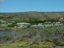 курорты hulopoe залива Стоковые Изображения