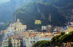 Курорт Амальфи, Италия, Европа стоковые изображения