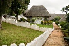 Курорт бунгала в Занзибаре Стоковое Фото