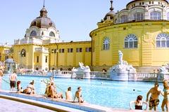 КУРОРТ Будапешт Szechenyi стоковая фотография