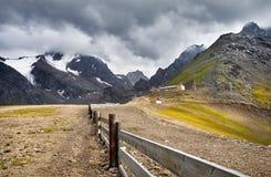 Курорт в горах Стоковая Фотография