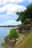 Курорт в острове Индонезии Стоковая Фотография