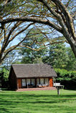 Курорт в древесины Стоковые Фотографии RF