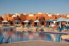 Курорт в Hurghada стоковая фотография