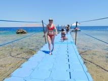 Курорт в Sharm El Sheikh Стоковая Фотография RF