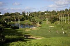 курорт гольфа стоковое изображение