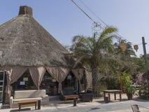 Курорт гостиницы в Гамбии стоковое изображение rf