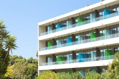 Курорт гостиницы стоковое изображение rf