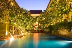 курорт гостиницы Стоковое Изображение