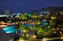 Курорт гостиницы Bornean Стоковые Изображения RF