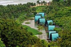 Курорт деревни в Вьетнаме Стоковые Фото