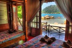 курорт дома деревянный Стоковое фото RF