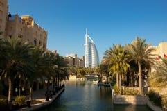 курорт Дубай роскошный Стоковое Изображение