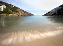 Курорт Испания Ibiza Cala Llonga Стоковое Изображение RF
