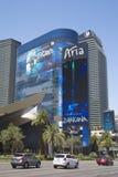 Курорт и казино арии на прокладке Лас-Вегас Стоковые Изображения RF
