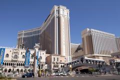 Курорт и казино Palazzo роскошные в Лас-Вегас Стоковое Изображение RF