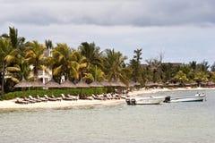 курорт Маврикия пляжа Стоковая Фотография RF