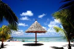 курорт Мальдивов пляжа Стоковое Фото