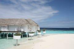 курорт Мальдивов Стоковые Фото