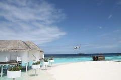 курорт Мальдивов Стоковое Изображение