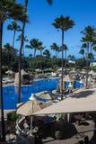Курорт Мауи Гаваи Wailea Стоковое Изображение RF
