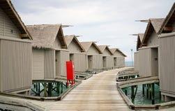 Курорт Мальдивы Стоковое фото RF