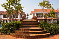 курорт моста тропический Стоковые Изображения
