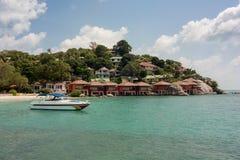 Курорт на Koh Phangan Стоковое Изображение