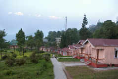 Курорт на Loleygaon Стоковое Изображение RF