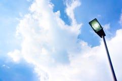 курорт ночи светильника здоровья belokurikha altay снял улицу Сибиря стоковое изображение