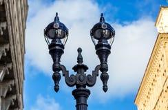 курорт ночи светильника здоровья belokurikha altay снял улицу Сибиря Стоковые Изображения RF