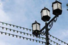 курорт ночи светильника здоровья belokurikha altay снял улицу Сибиря стоковые фото