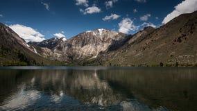 Курорт озера каторжник на пасмурный день стоковая фотография