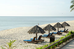 курорт пляжа cherating Стоковое фото RF