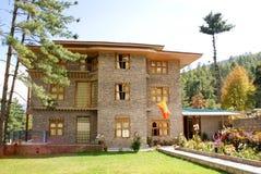 Курорт полу-роскоши, мирный курорт, на окраинах Тхимпху Стоковые Изображения