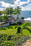 Курорт светляка на Abaco, Багамских островах стоковые изображения rf