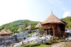 курорт Таиланд хаты Стоковые Изображения RF