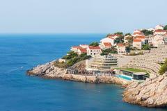 курорт Хорватии среднеземноморской Стоковые Изображения