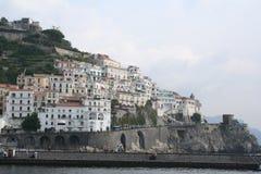 курорт amalfi Италии Стоковые Фото