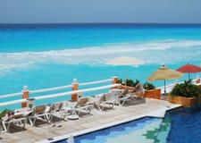 курорт cancun Стоковое фото RF