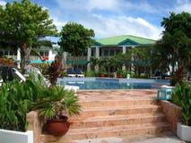 курорт caye янтаря тропический Стоковые Изображения