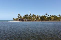 Курорт Eco d'Ajuda Arraial в Бахи стоковое фото