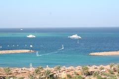 курорт hurgada Египета Стоковые Фотографии RF