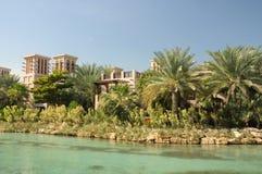 курорт madinat jumeirah Дубай Стоковое Фото