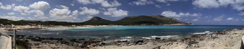 курорт mallorca пляжа Стоковые Изображения