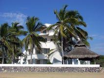 курорт manzanillo города Стоковые Изображения RF